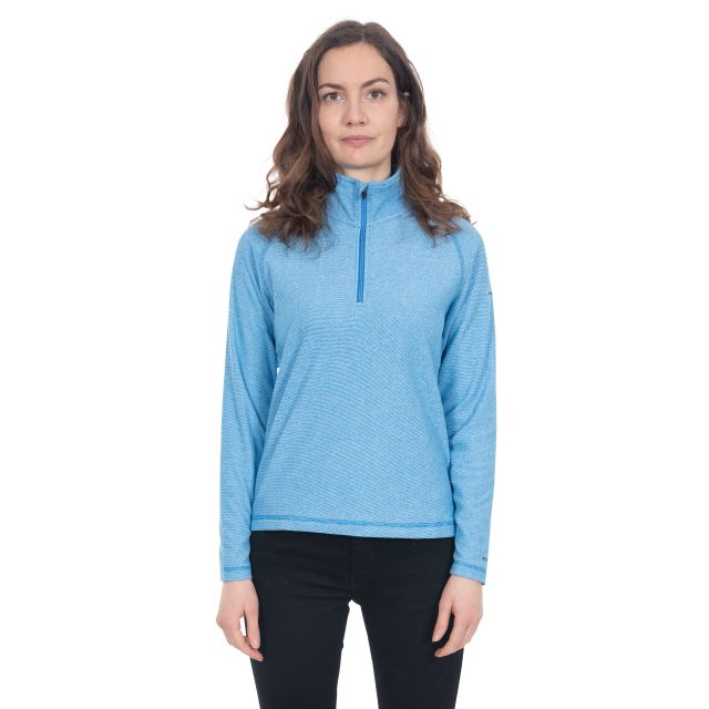 Meadows Women's 1/2 Zip Fleece in Blue