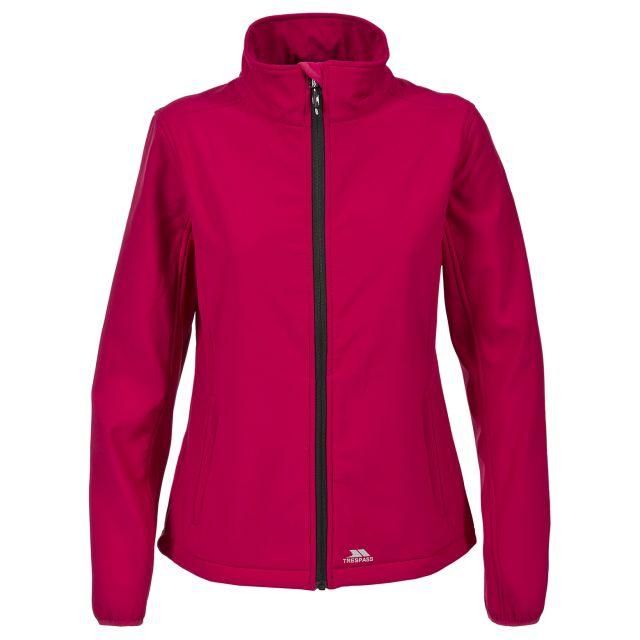 Meena Women's Softshell Jacket in Pink