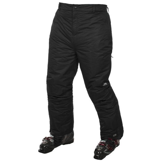 Megeve Adults' Black Ski Pants in Black