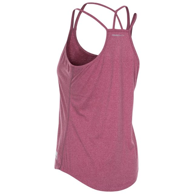 Meghan Women's Sleeveless Active T-shirt in Purple