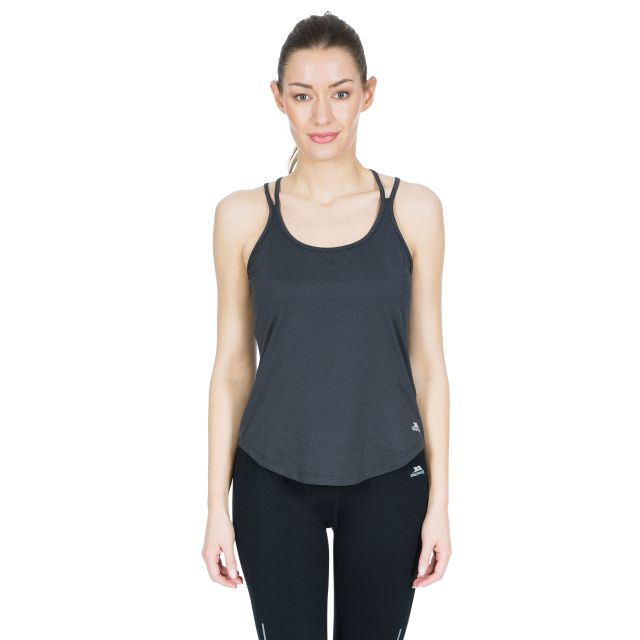 Meghan Women's Sleeveless Active T-shirt in Grey
