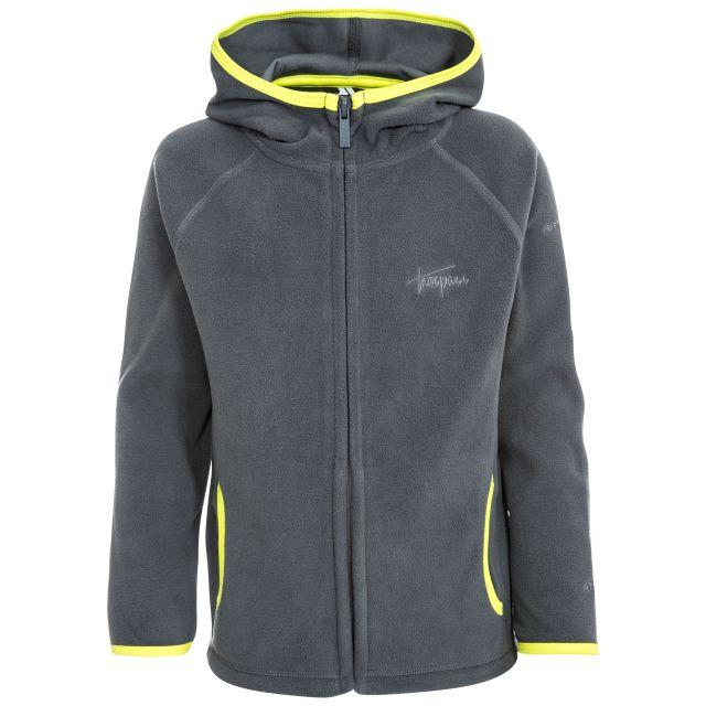 Melvin Kids' Full Zip Fleece Hoodie in Grey