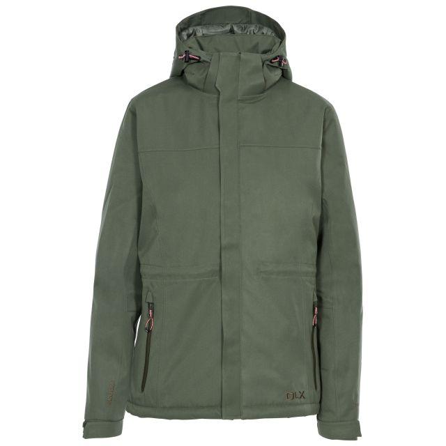 DLX Womens Waterproof Jacket Padded Mendell in Green