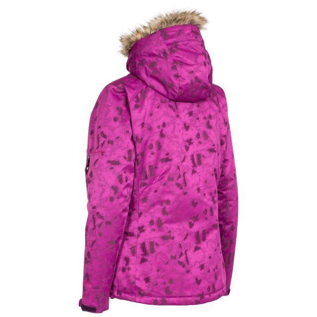 Merrion Women's Hooded Ski Jacket in Purple