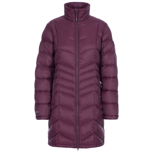Micaela Women's Lightweight Down Jacket in Purple