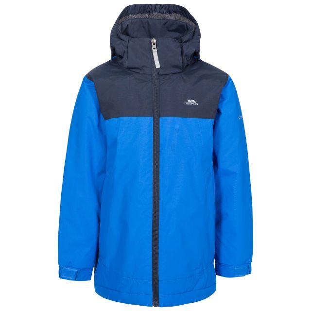 Mikael Kids' Padded Waterproof Jacket in Blue