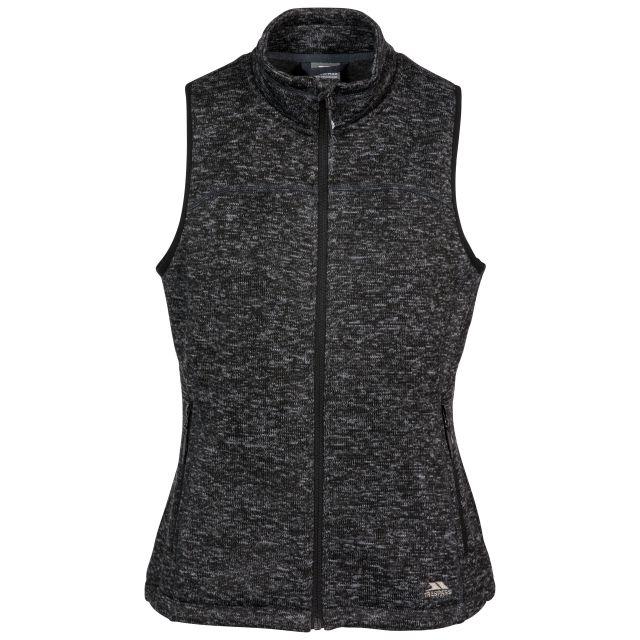 Mildred Women's Fleece Gilet in Black