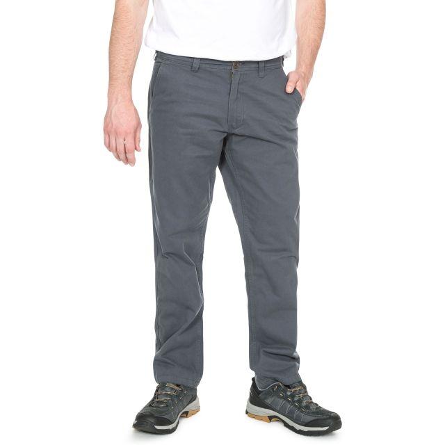 Milium Men's Chino Trousers in Grey