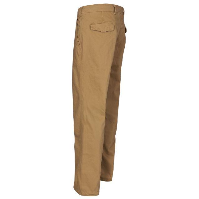 Milium Men's Chino Trousers in Brown