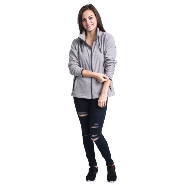 Mirsha Women's Fleece in Light Grey