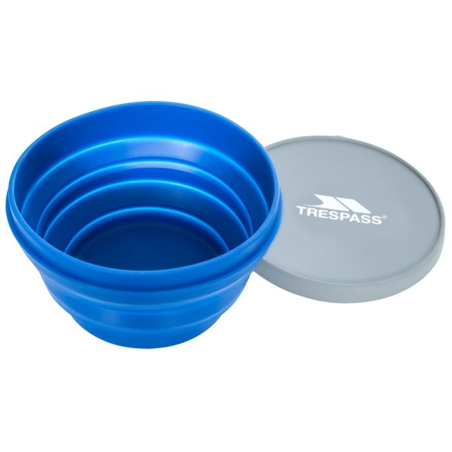 1 Litre Silicone Collapsible Bowl  in Blue