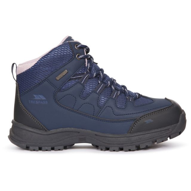 Trespass Women's Waterproof Walking Boots Mitzi Navy
