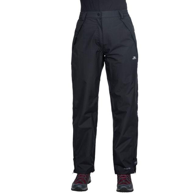 Miyake Women's Waterproof Walking Trousers in Black