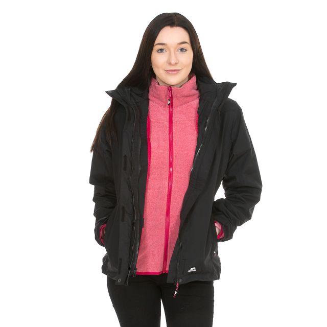 Madalin Women's Hooded 3 in Black