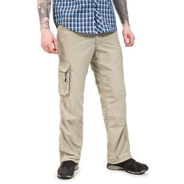 Baslow Men's Cargo Trousers  in Beige