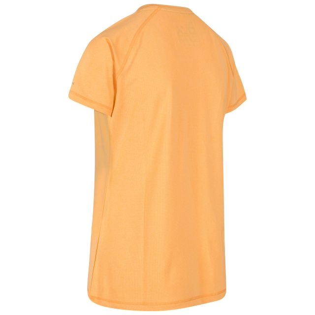 Monnae Women's DLX Quick Dry Active T-shirt in Orange