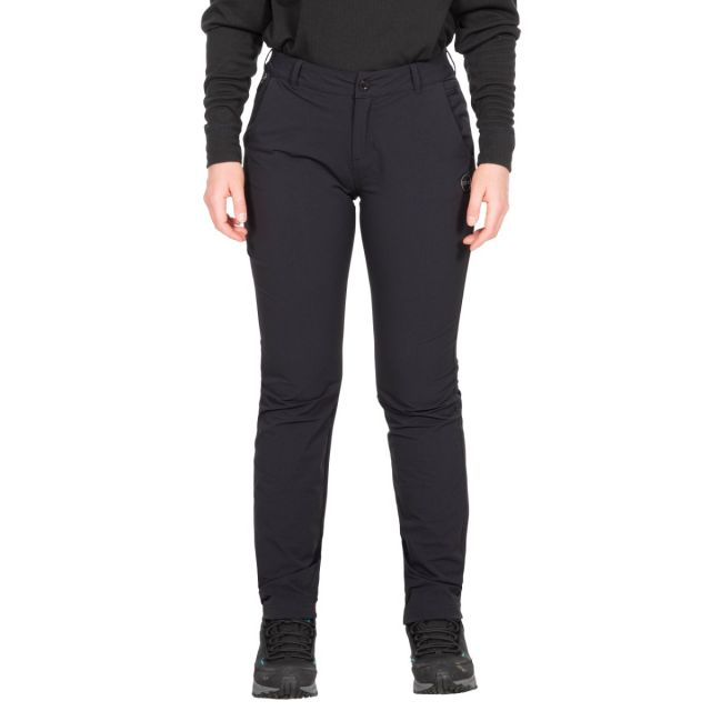 Moreno Women's DLX Eco-Friendly Walking Trousers in Black