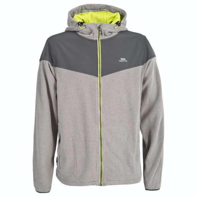 Morsley Men's Fleece Hoodie in Grey
