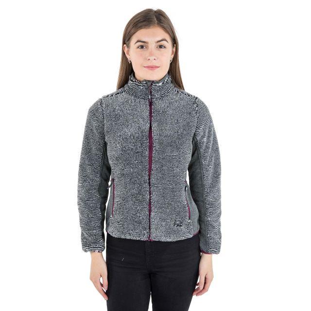 Muirhead Women's Striped Fleece in Grey
