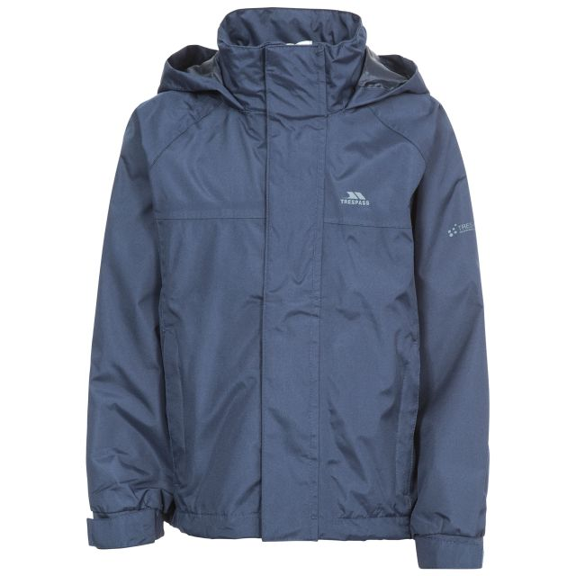 Nabro Boys' Waterproof Jacket in Navy