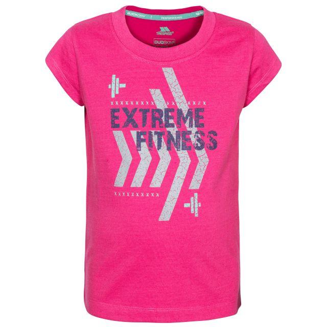 Naja Kids' Printed T-Shirt in Pink