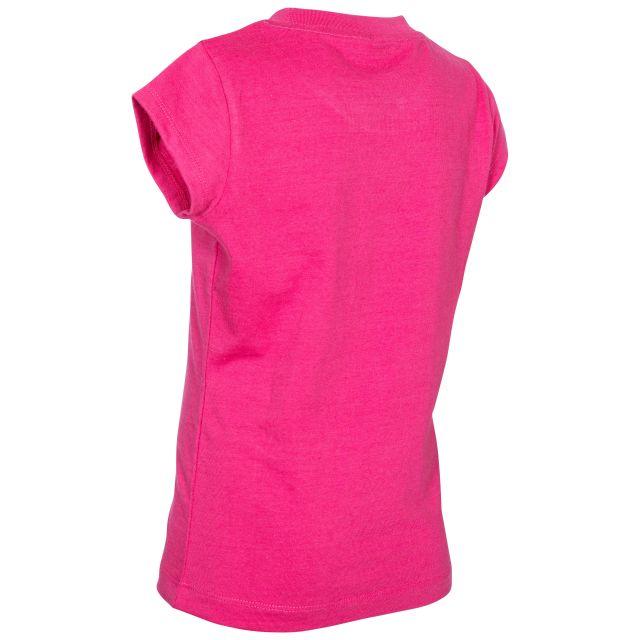 Trespass Kids Printed T-Shirt in Pink Naja
