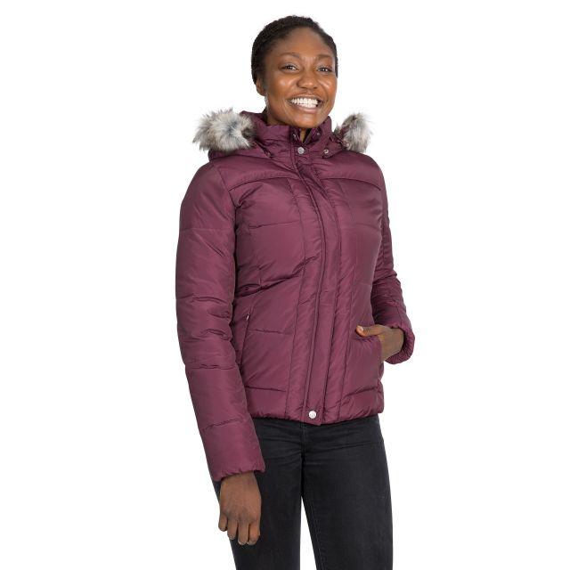Trespass Women Padded Jacket Nanette in Purple