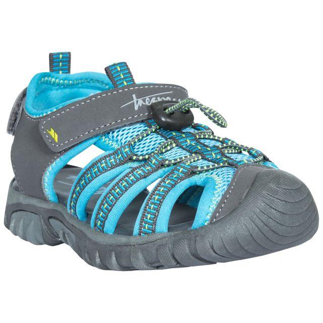 Nantucket Kids' Sandals in Grey