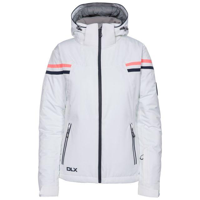 Natasha Women's DLX RECCO Waterproof Ski Jacket in White