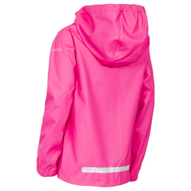 Nella Girls' Waterproof Jacket in Pink