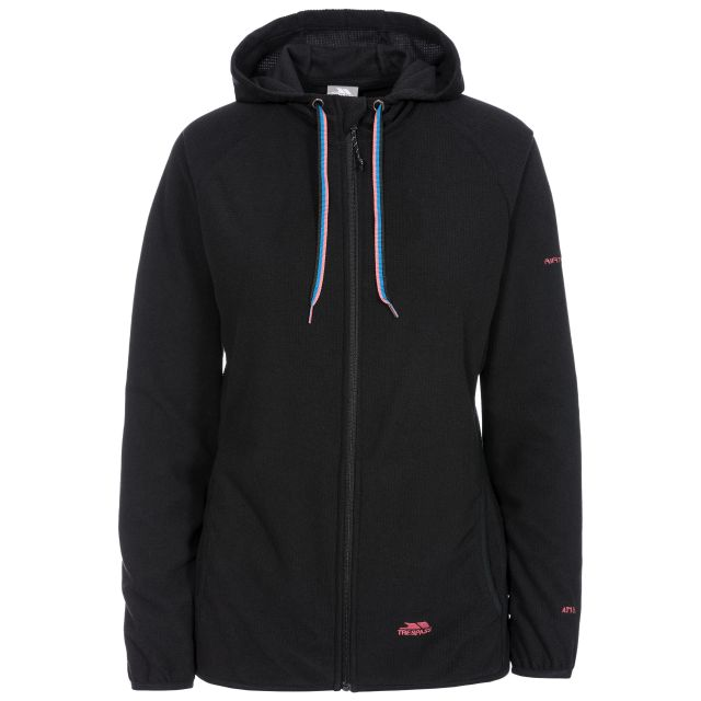 Network Women's Fleece Hoodie in Black