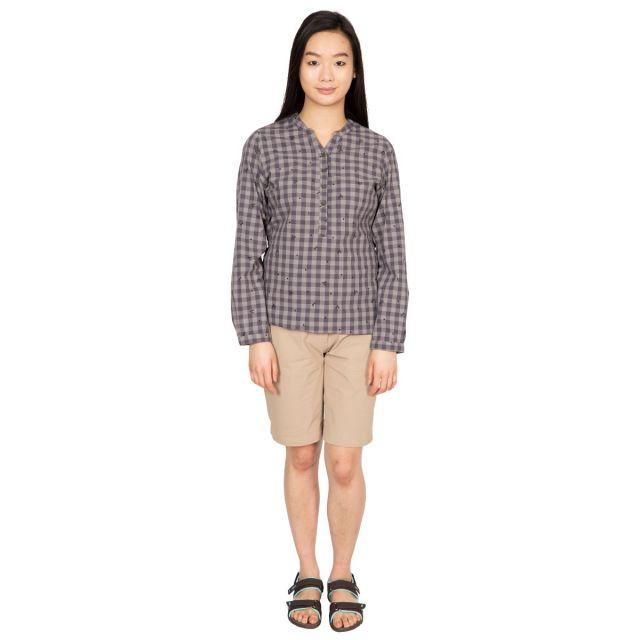 Noreen Women's Long Sleeve Shirt in Grey