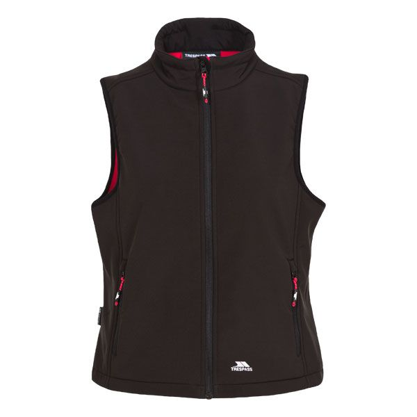 Norma Women's Softshell Gilet in Black