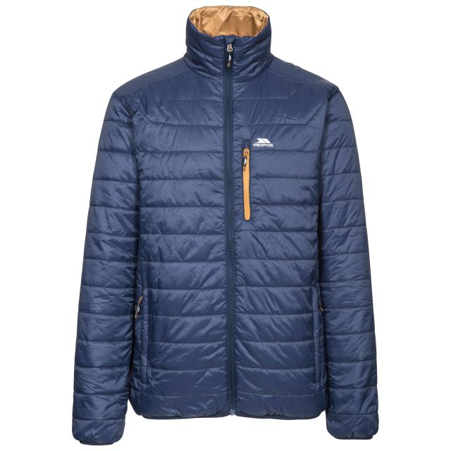 Norman Men's Lightweight Padded Casual Jacket in Navy