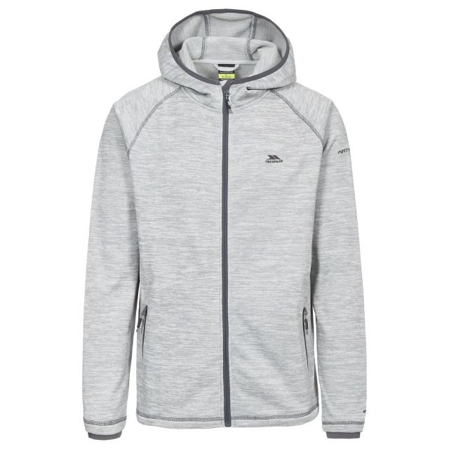 Northwood Men's Fleece Hoodie in Light Grey