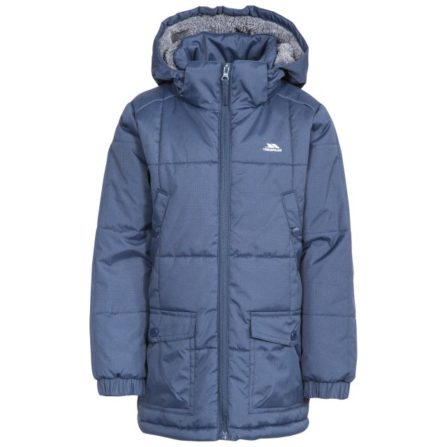 Offside Boys' Water Resistant Padded Jacket in Navy