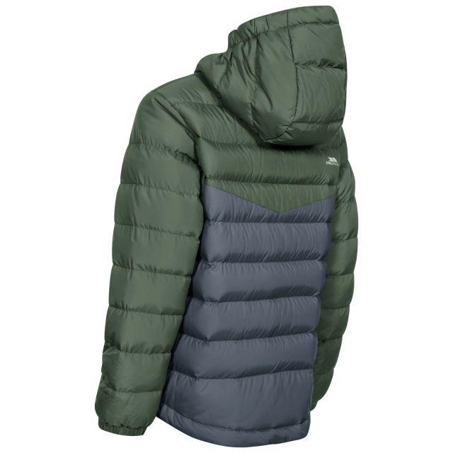 Oskar Kids' Padded Casual Jacket in Khaki