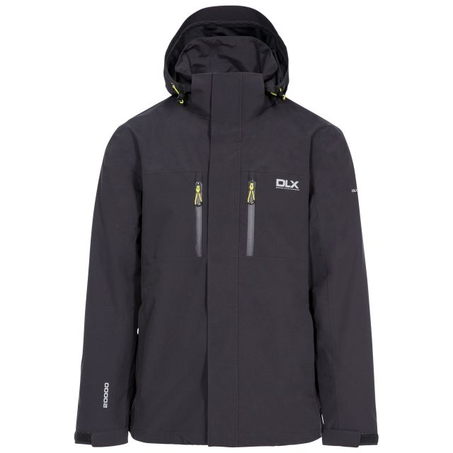Oswalt Men's DLX Waterproof Jacket in Grey