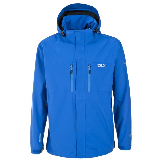 Oswalt Men's DLX Waterproof Jacket - BLU