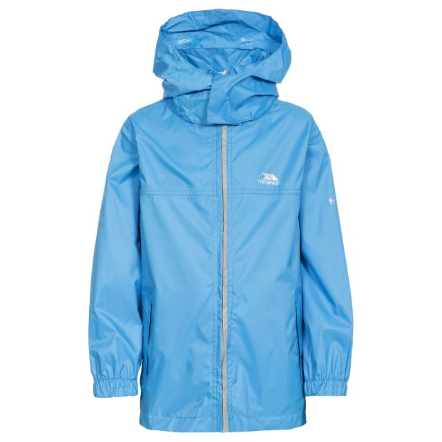 Packup Kids' Packaway Jacket in Blue