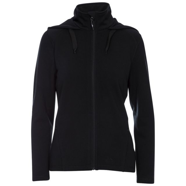 Panache Women's Fleece Hoodie in Black