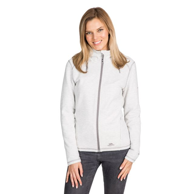 Panache Women's Fleece Hoodie in Light Grey