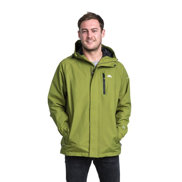 Pearson Men's Waterproof Jacket in Khaki