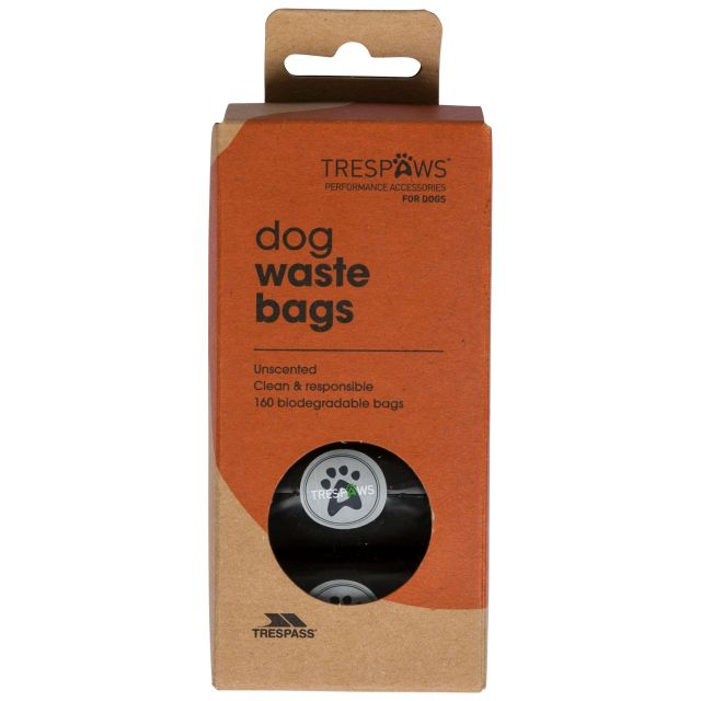 Pebble Dash Dog Poop Bags Refill Pack in Black