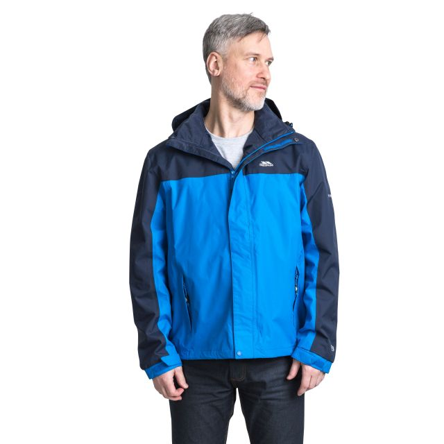 Phelps Men's Waterproof Jacket in Blue