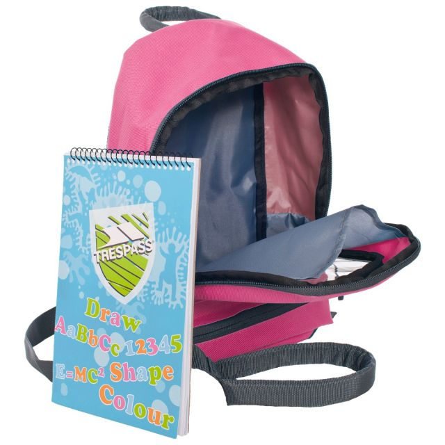 Picasso Kids' 5 Litre Pink Backpack