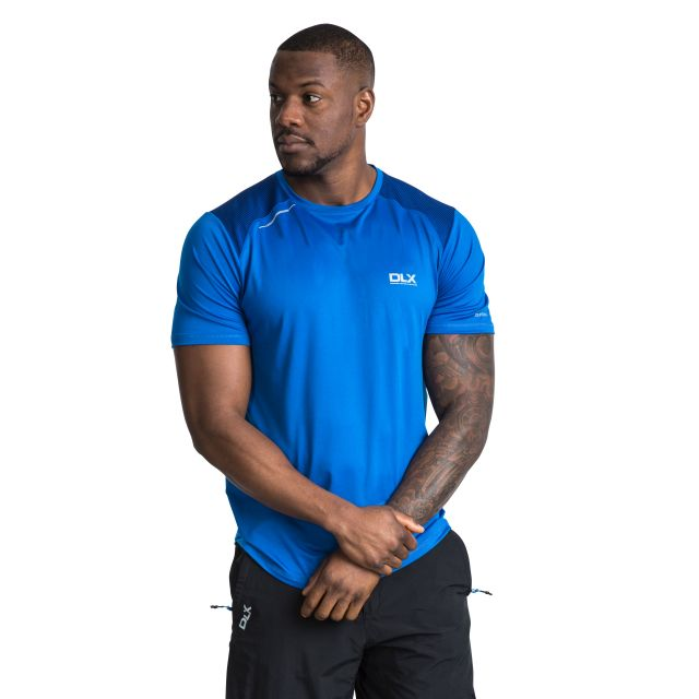 Pickens Men's DLX Quick Dry Active T-Shirt in Blue