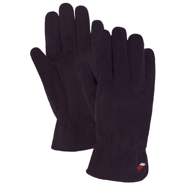 Plummet Unisex Fleece Gloves in Black