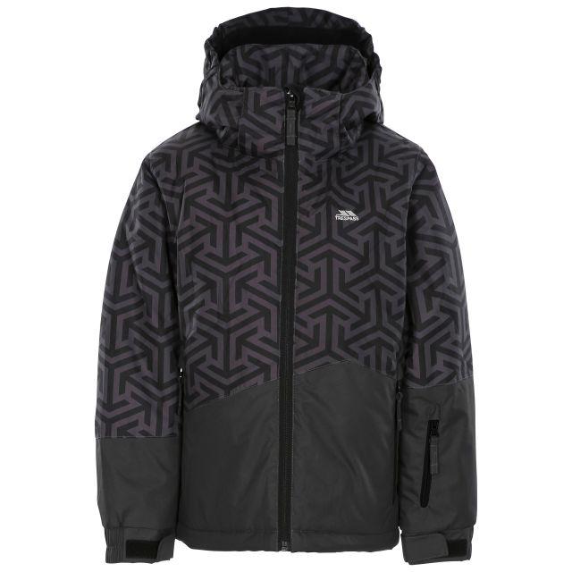 Pointarrow Kids' Printed Ski Jacket in Grey