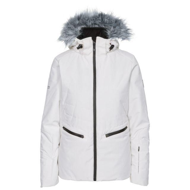 Poise Women's Waterproof Ski Jacket in White